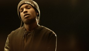 "A$AP Rocky - Photo Extrait du Clip ""Goldie"""